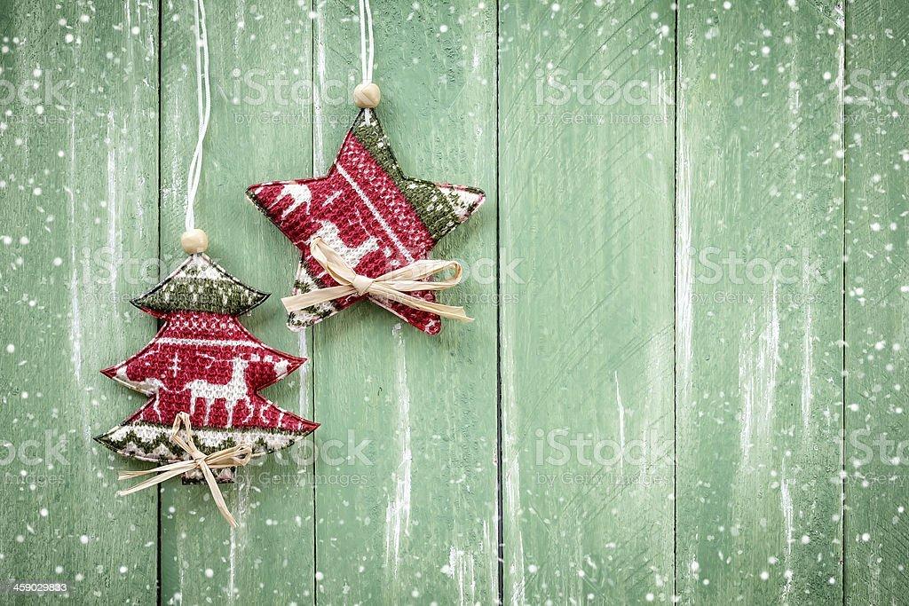 Christmas hanging decoration royalty-free stock photo
