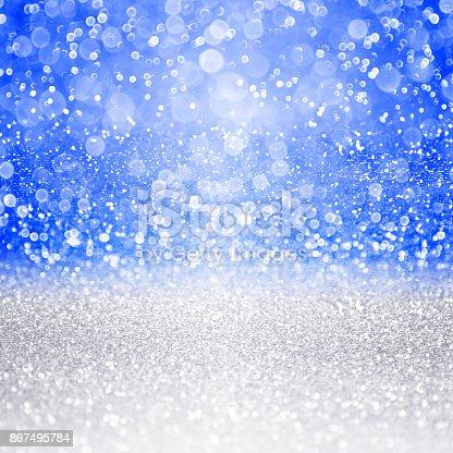 866754590 istock photo Christmas, Hanukkah or Chanukah Background Sparkle 867495784