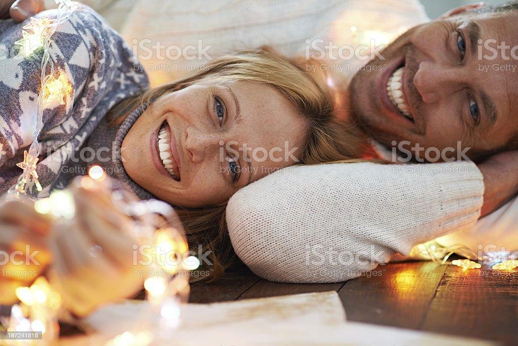 Christmas happiness royalty-free stock photo