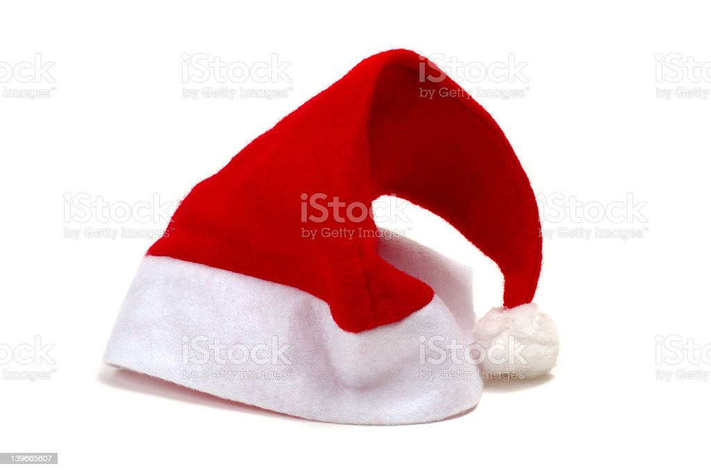 Christmas hat royalty-free stock photo