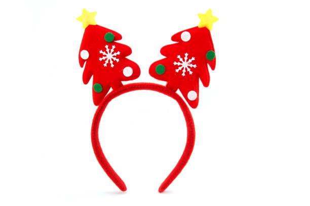 Christmas headband with decorative christmas trees picture id883790068?b=1&k=6&m=883790068&s=612x612&w=0&h=nd ca6auumecttkn758al39dxfo qiesvxd3xk72mtg=