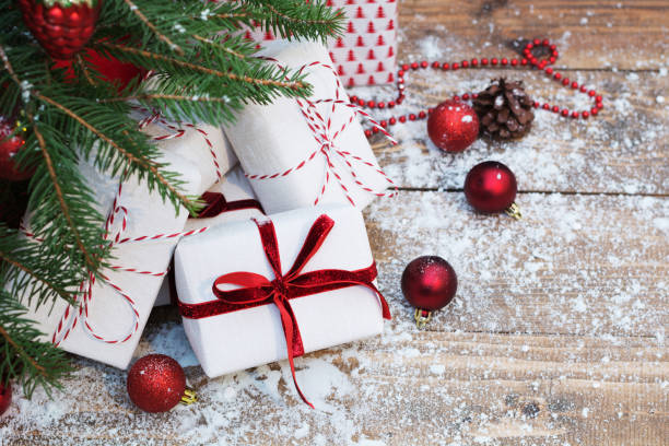 Christmas Presents Under Tree.Best Christmas Presents Under Tree Stock Photos Pictures