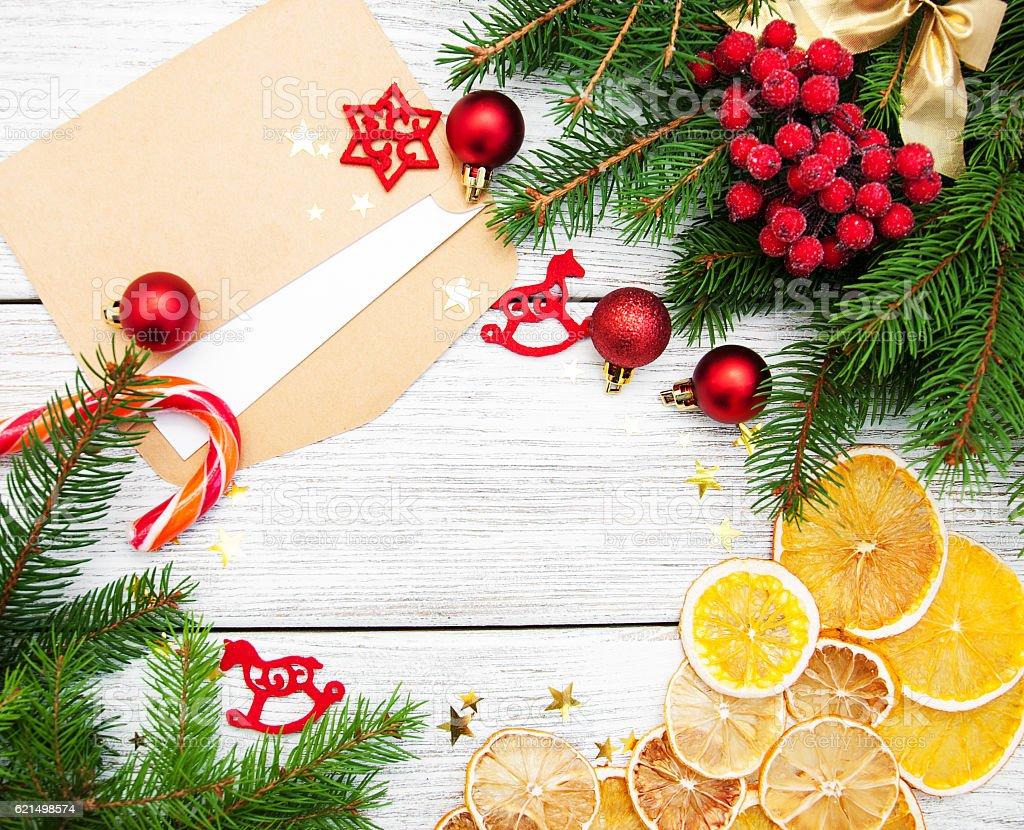 Sfondo di Natale vacanza foto stock royalty-free