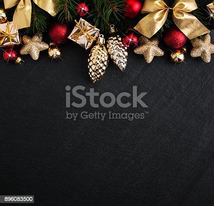 istock Christmas holiday background 896083500