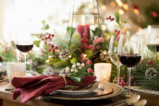 Christmas Holiday Dining Table