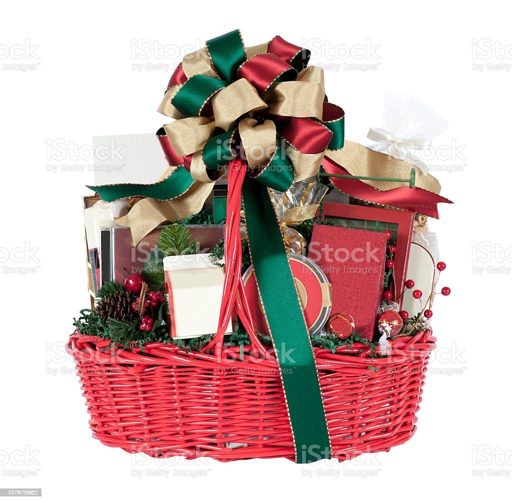 Weihnachten Urlaub Geschenkkorb Stockfoto 157675862 | iStock