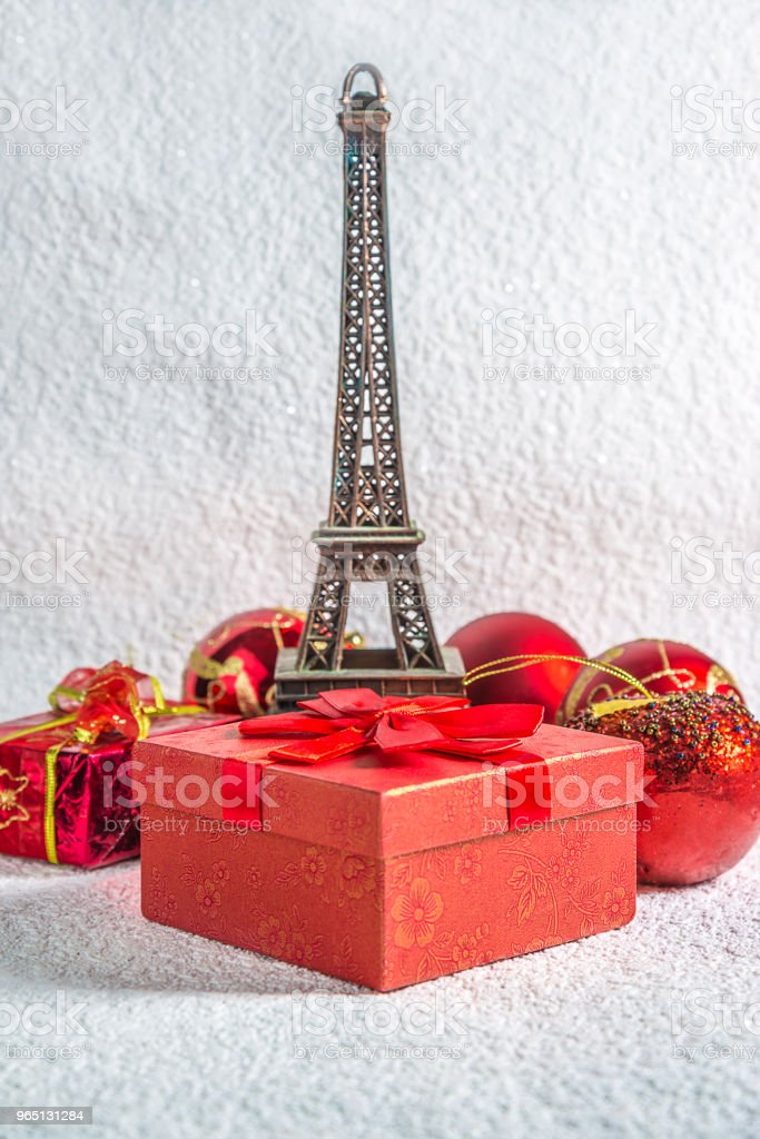 Christmas holiday in Paris royalty-free stock photo