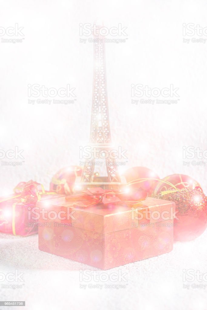 Christmas holiday in Paris zbiór zdjęć royalty-free