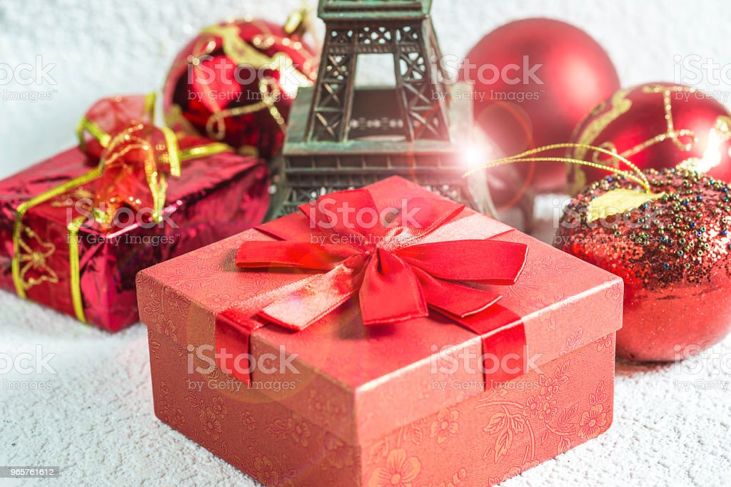 Christmas holiday in Paris - Royalty-free Anniversary Stock Photo