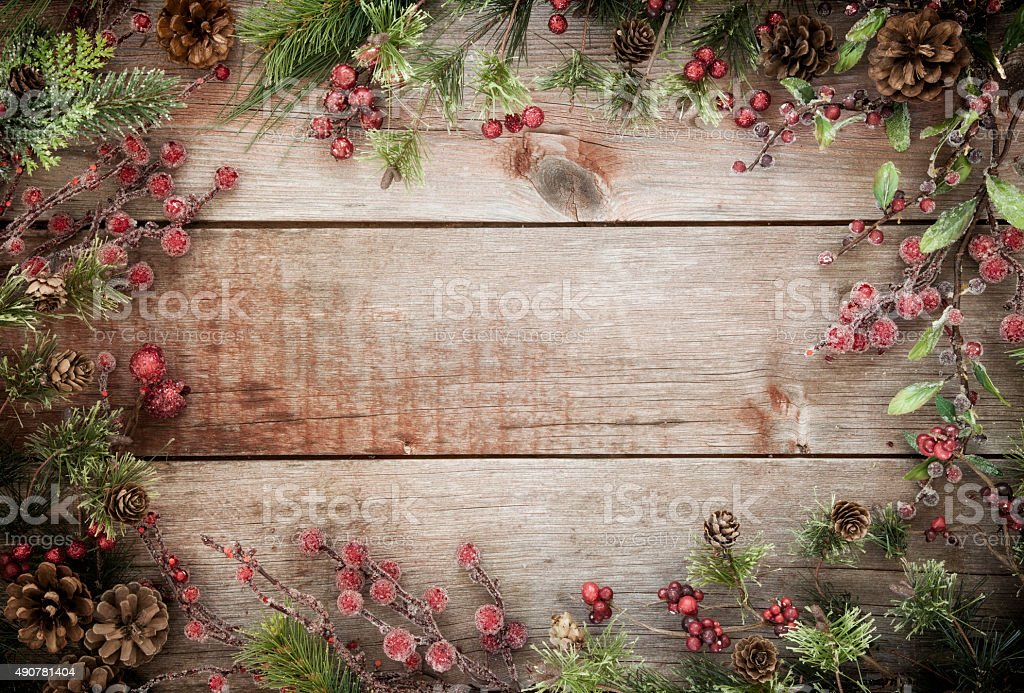 Christmas Wreath Background | My blog