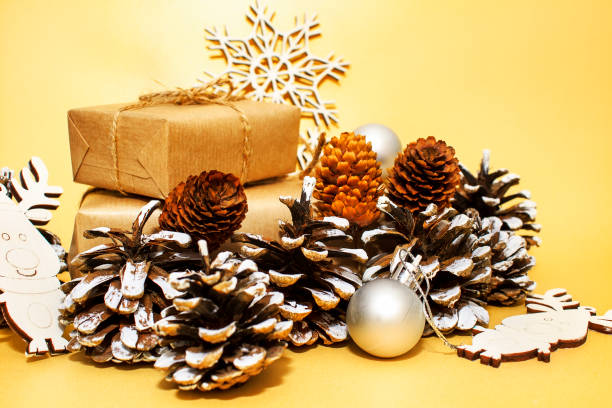 Christmas holidays composition on gold paper background picture id1175067268?b=1&k=6&m=1175067268&s=612x612&w=0&h=u5farpvhhvm 192d2sy9i i90b vix6p33lsi3ihpxy=