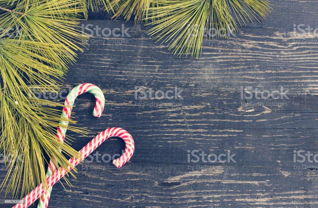 Christmas holidays composition stock photo