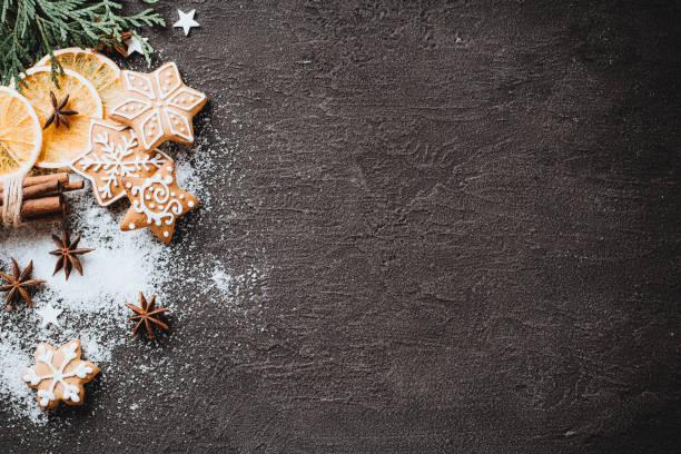 vacanze di natale, beffa biglietto d'auguri di capodanno - christmas cooking foto e immagini stock