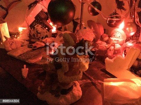 858960516 istock photo Christmas Home Decor 898544304