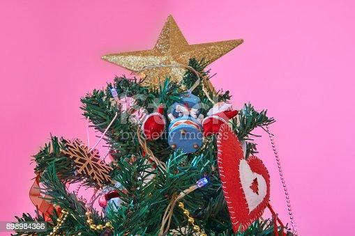 858960516 istock photo Christmas Home Decor 898984366