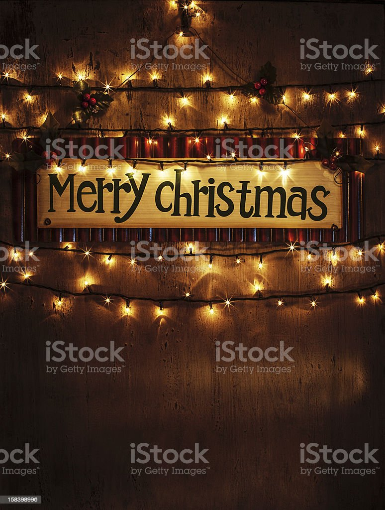 Christmas home decoration royalty-free stock photo