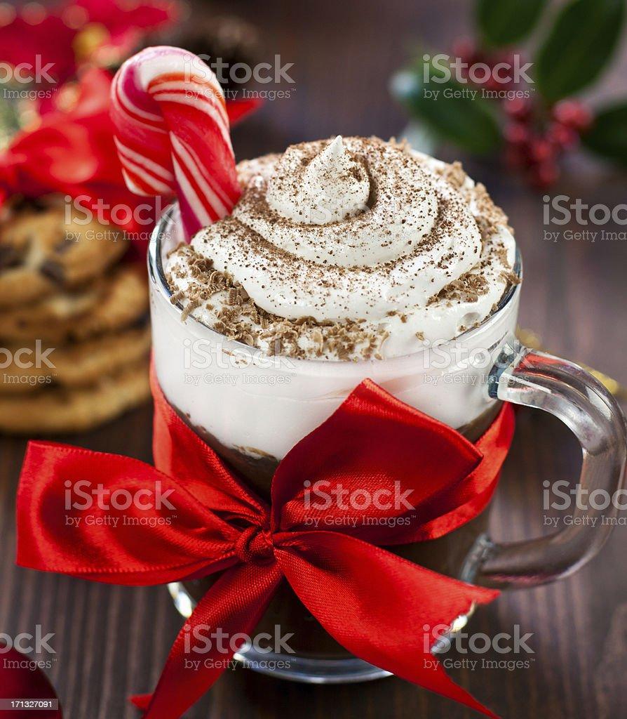 Christmas Hot Chocolate royalty-free stock photo