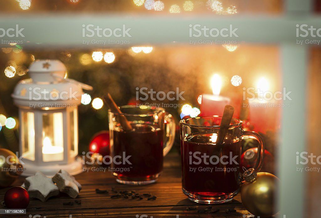 Christmas Hot Drink royalty-free stock photo