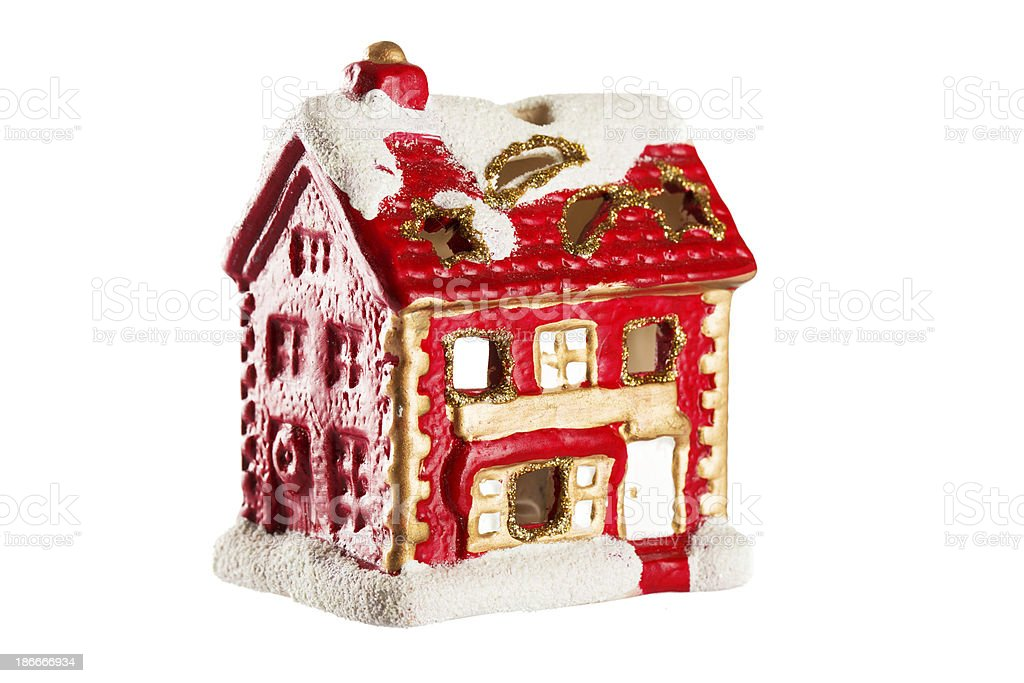 Christmas house royalty-free stock photo