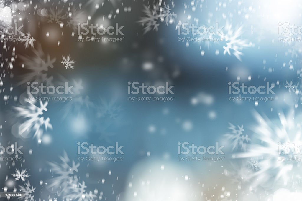 christmas ice stock photo