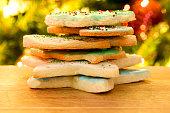 istock Christmas Iced Sugar Cookies 1293504889