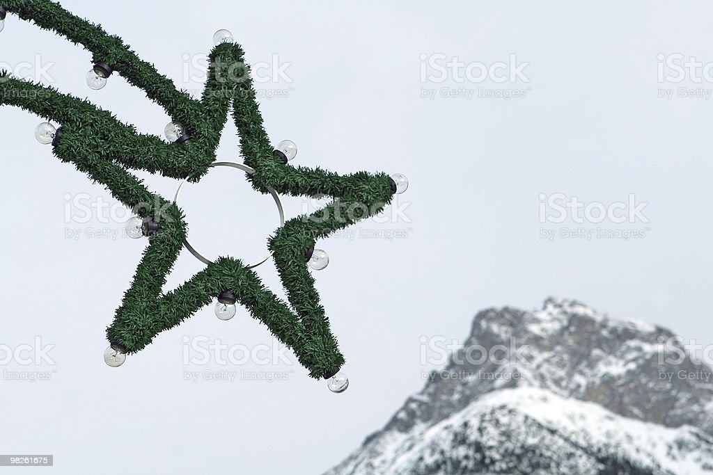 Christmas illumination royalty-free stock photo