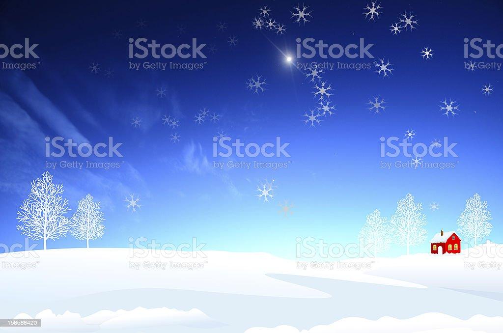 Christmas Illustration royalty-free stock photo