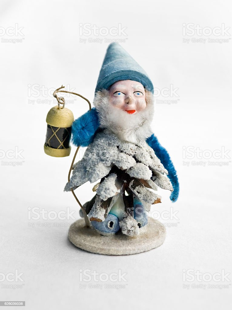 Christmas imp stock photo
