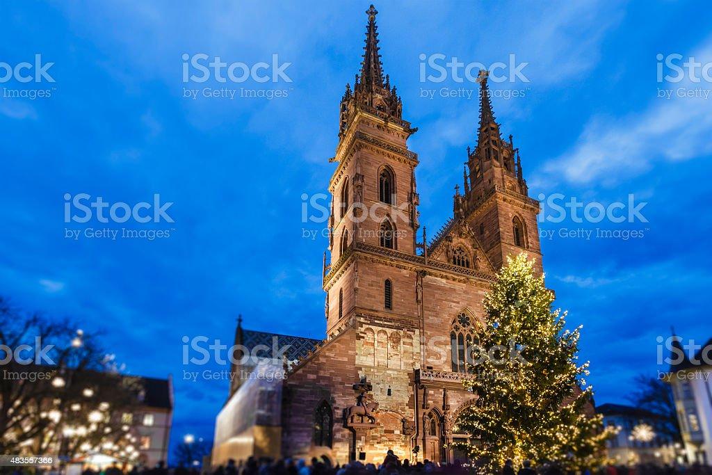 Christmas in Basel, Switzerland stock photo
