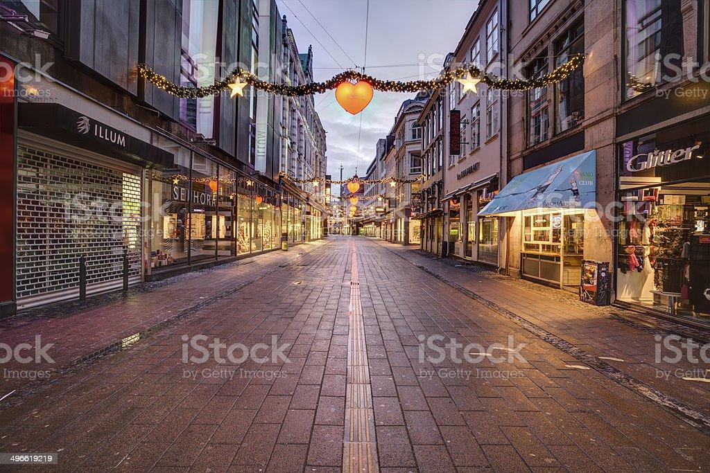 Christmas in Copenhagen stock photo