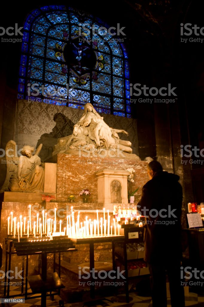 Christmas in France stock photo