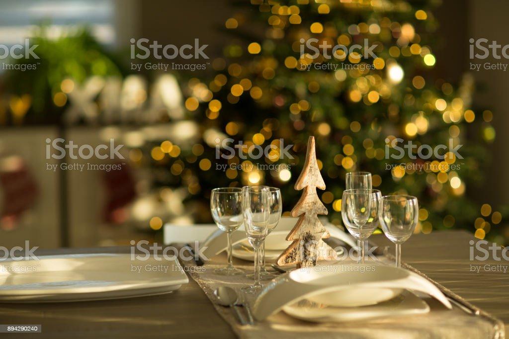Weihnachtsessen Zu Zweit.Weihnachten In Glr Dinner Zu Zweit Zu Weihnachten Stockfoto Und Mehr