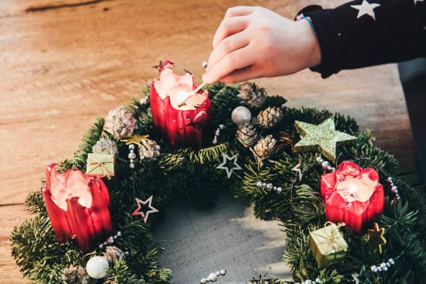 navidad en glr - adviento fotografías e imágenes de stock