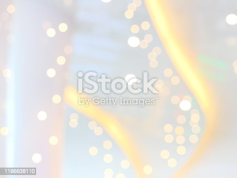 istock Christmas in Home with tree and festive bokeh lighting 1166638110