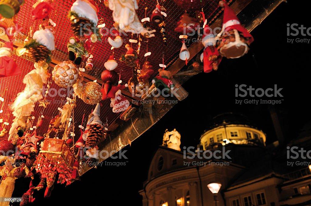 Christmas in merano south Tyrol royalty-free stock photo