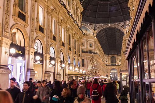 Christmas in Milan, Galleria Vittorio Emanele II