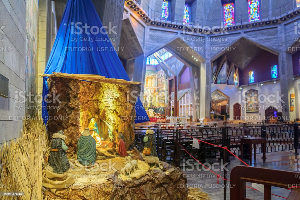 Christmas in Nazareth stock photo