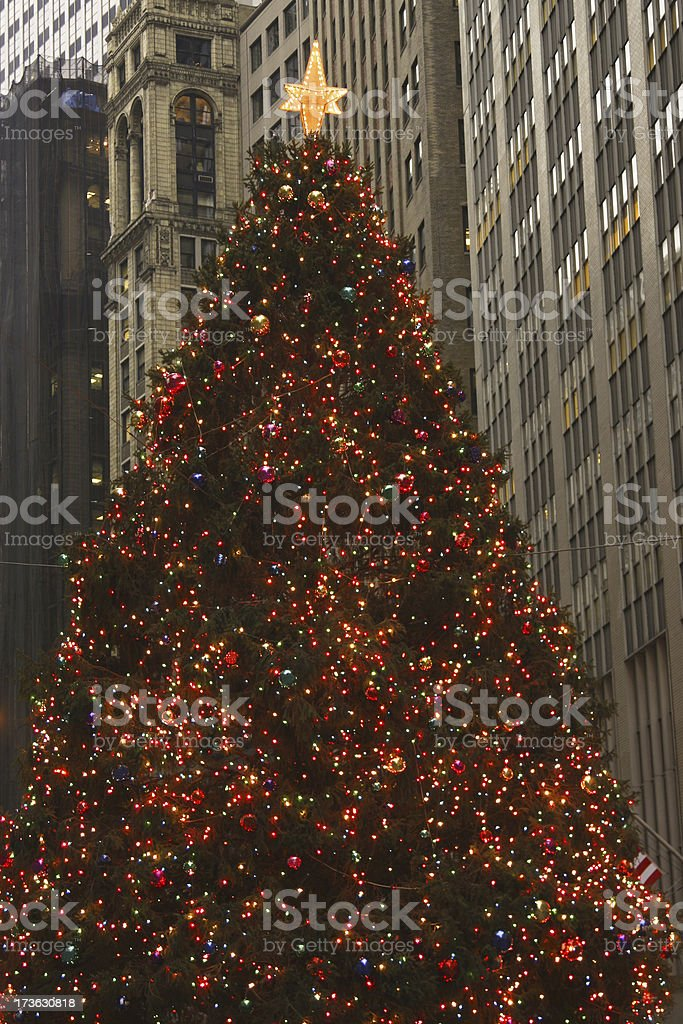 Christmas in New York City # 1 royalty-free stock photo