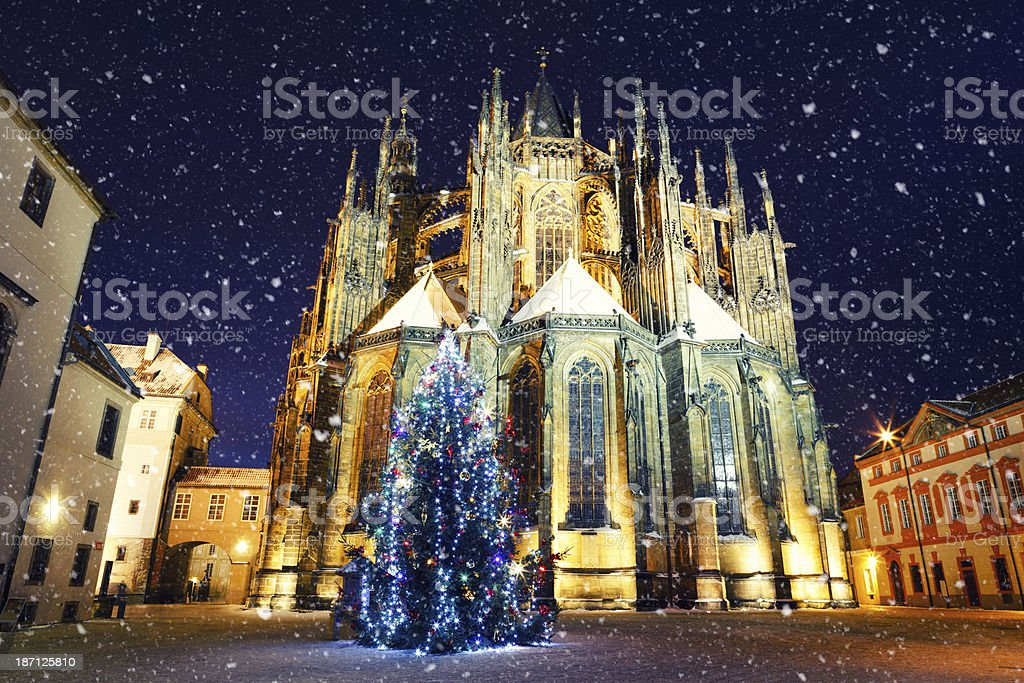 Christmas In Prague royalty-free stock photo