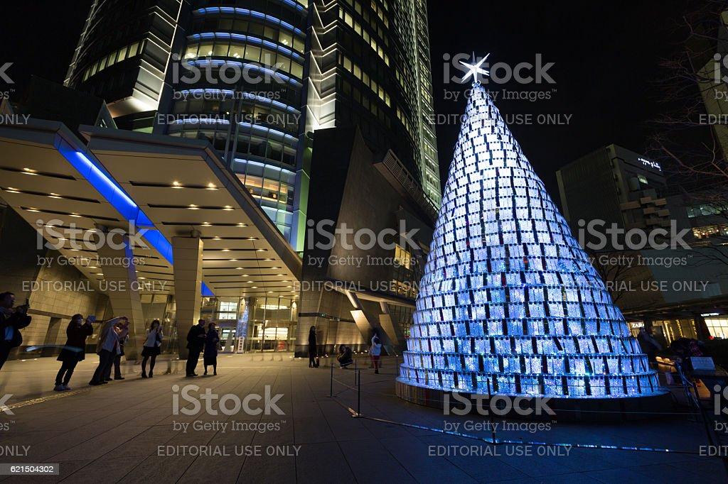 Weihnachten in Roppongi Hills, Tokio, Japan Lizenzfreies stock-foto