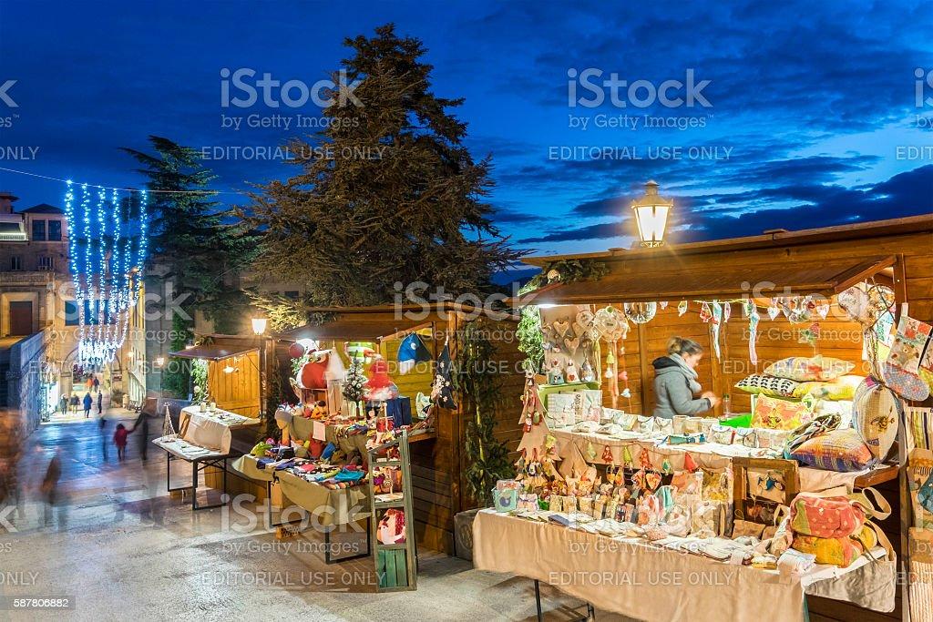 Weihnachten In San Marino Stockfoto und mehr Bilder von ...