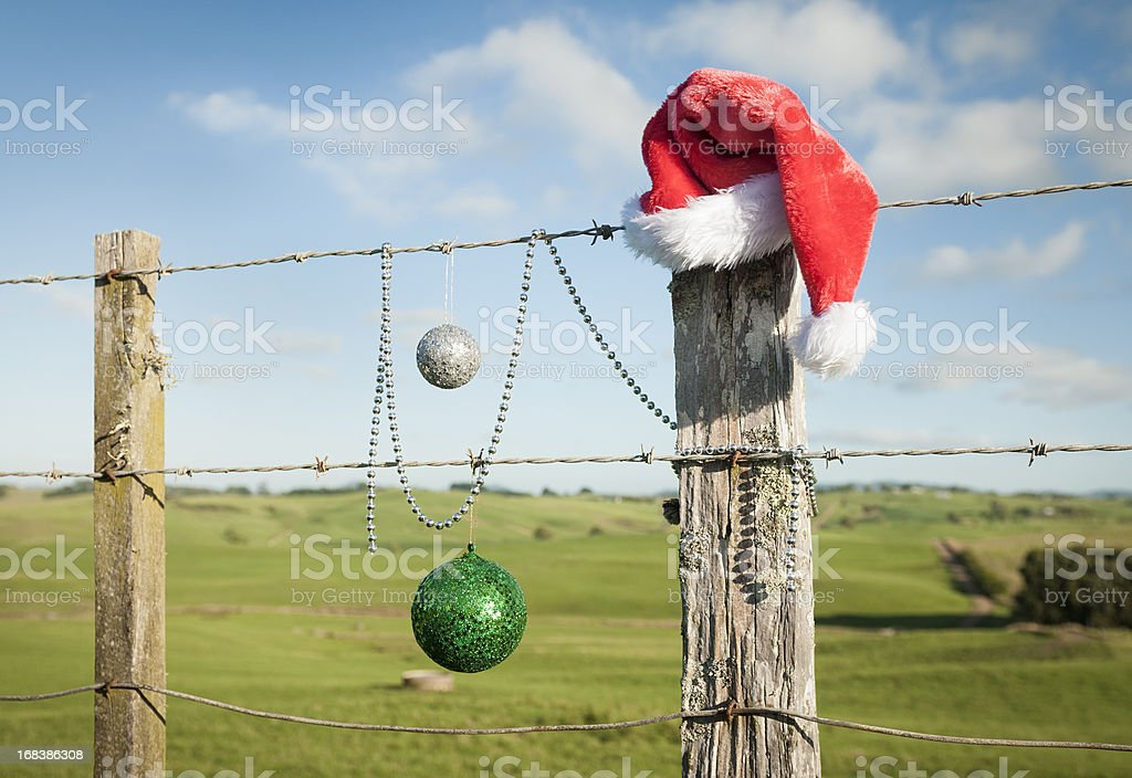Christmas in Summer stock photo