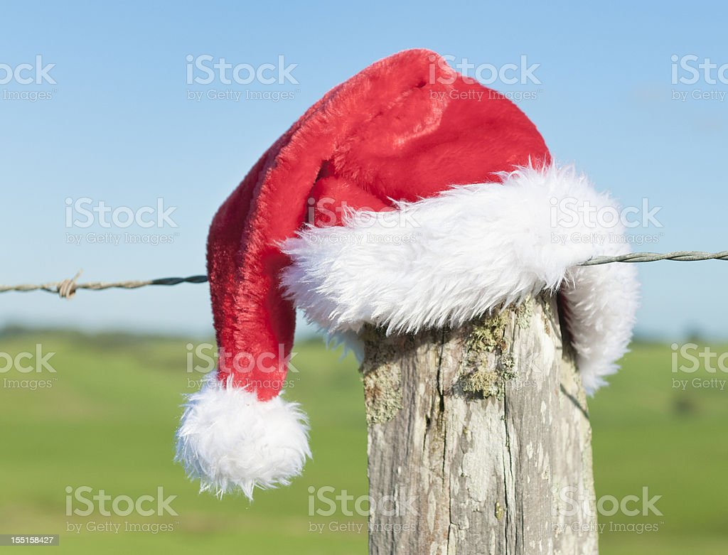 Christmas in the Southern Hemisphere stock photo