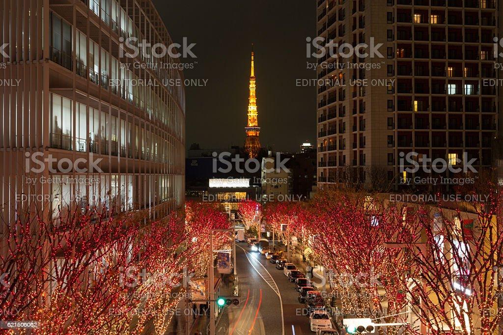 Noël à Tokyo, Japon photo libre de droits