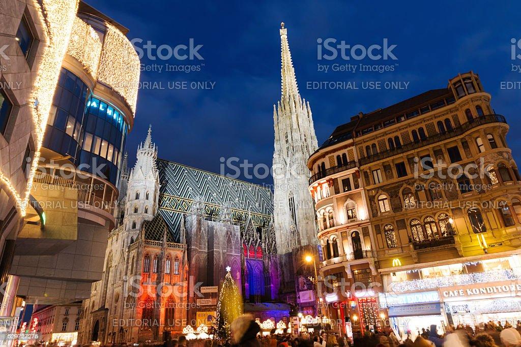 Christmas in Vienna stock photo