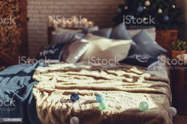 Christmas interior bedroom cozy and stylish modern room picture id1026488680?b=1&k=6&m=1026488680&s=612x612&h=p7bsvzh4ix0kyuyogc5 2y 7emluyagqohefqpeshae=