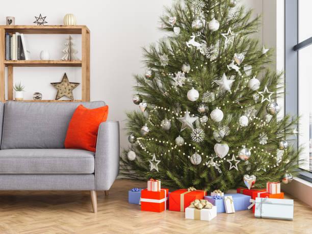 Weihnachten-Interieur – Foto