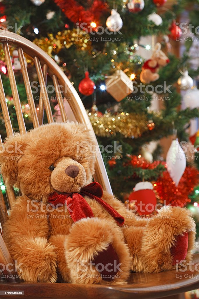 Christmas interior - Royalty-free Antique Stock Photo