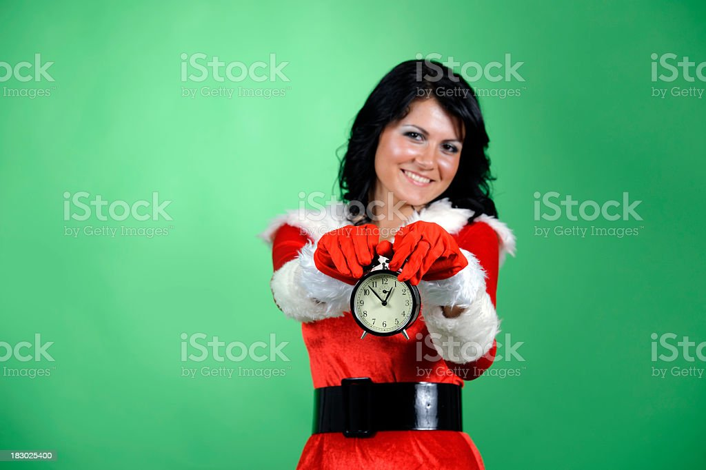 christmas is here stock photo