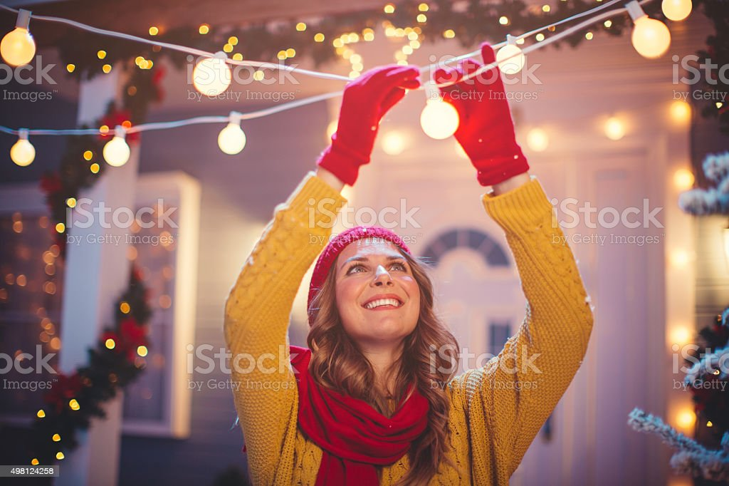 Christmas is nearly here. stock photo